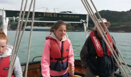 Sailing on Fox II