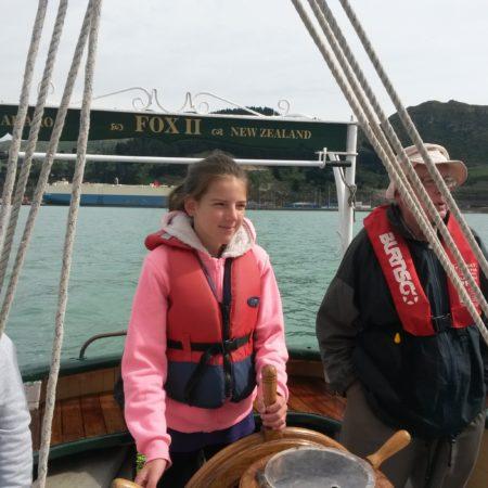 Sailing on Fox II