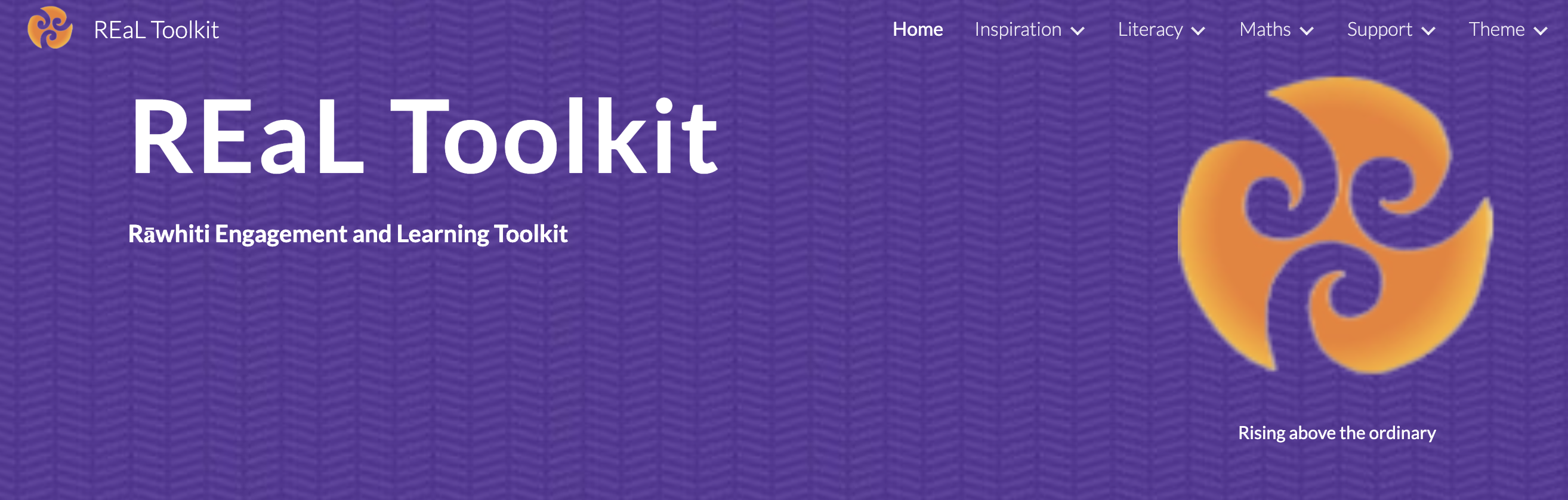 Real toolkit banner